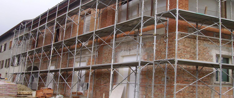 ristruturazione facciata esterna